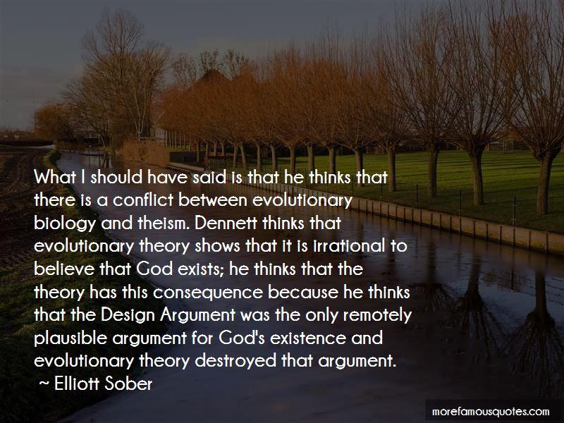 Elliott Sober Quotes