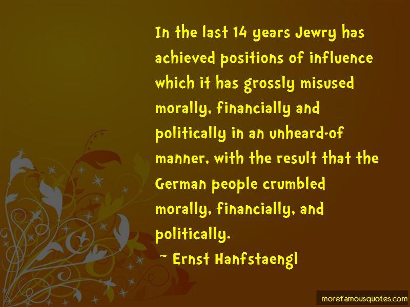 Ernst Hanfstaengl Quotes