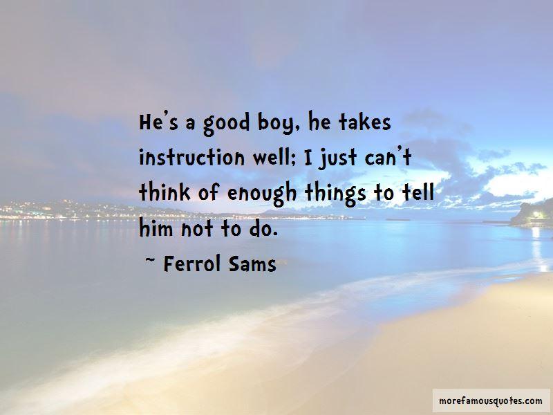 Ferrol Sams Quotes Pictures 4