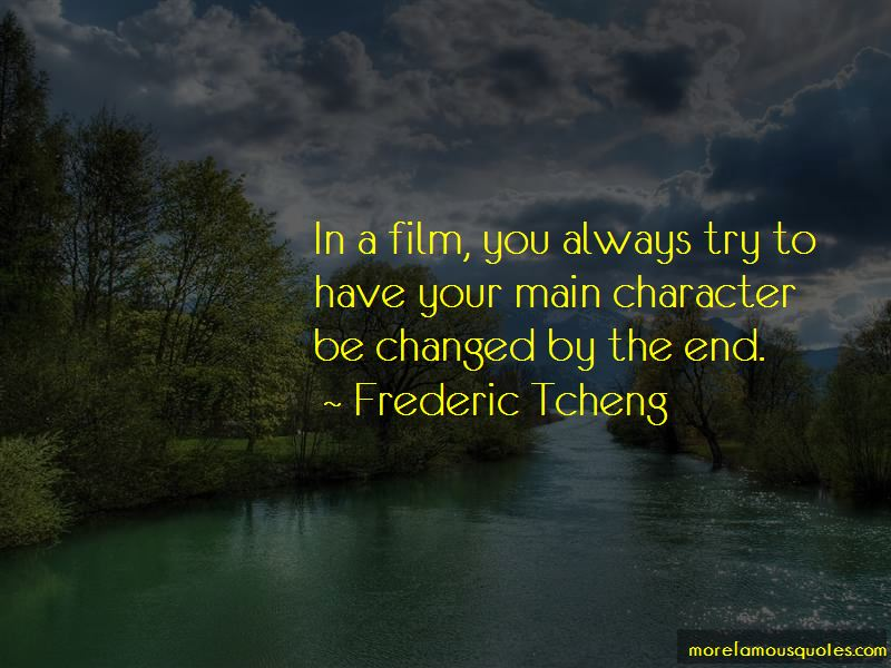 Frederic Tcheng Quotes