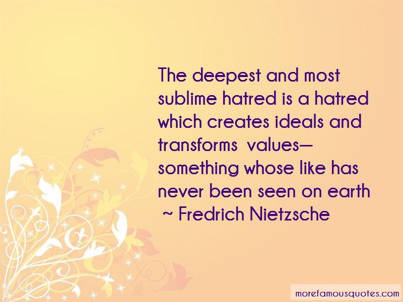 Fredrich Nietzsche Quotes