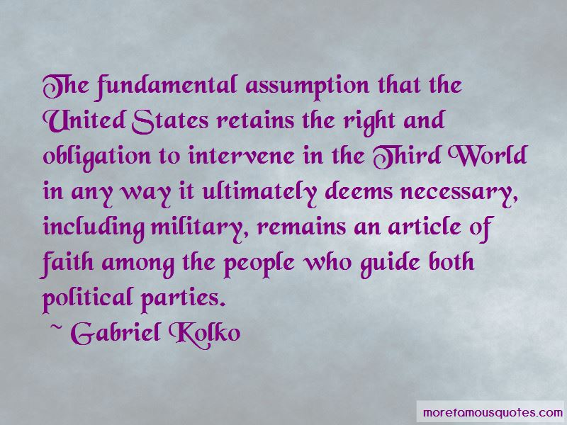 Gabriel Kolko Quotes Pictures 4