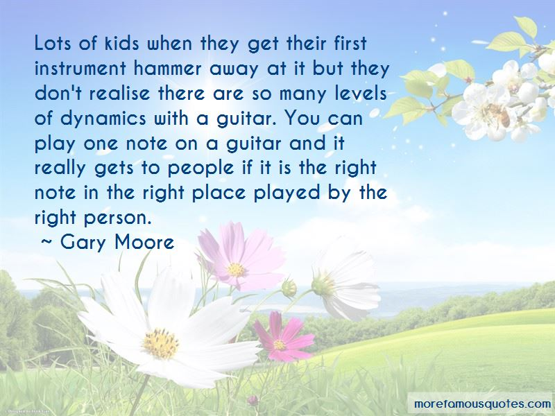 Gary Moore Quotes Pictures 2