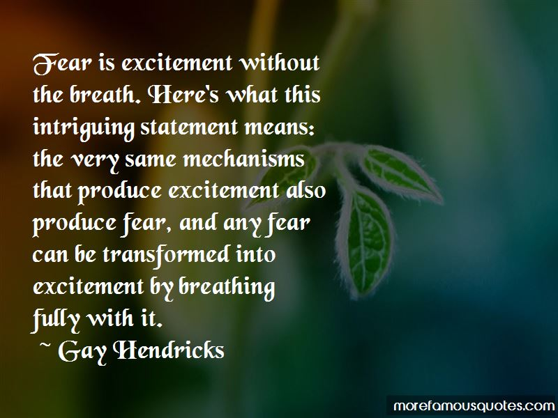 Gay Hendricks Quotes Pictures 3