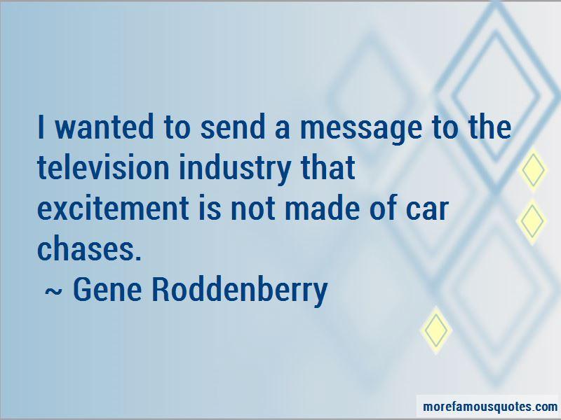 Gene Roddenberry Quotes