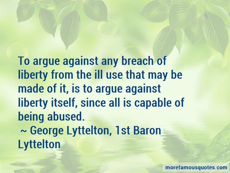 George Lyttelton, 1st Baron Lyttelton Quotes Pictures 3