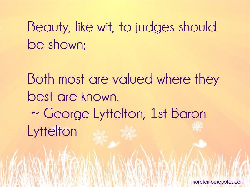 George Lyttelton, 1st Baron Lyttelton Quotes