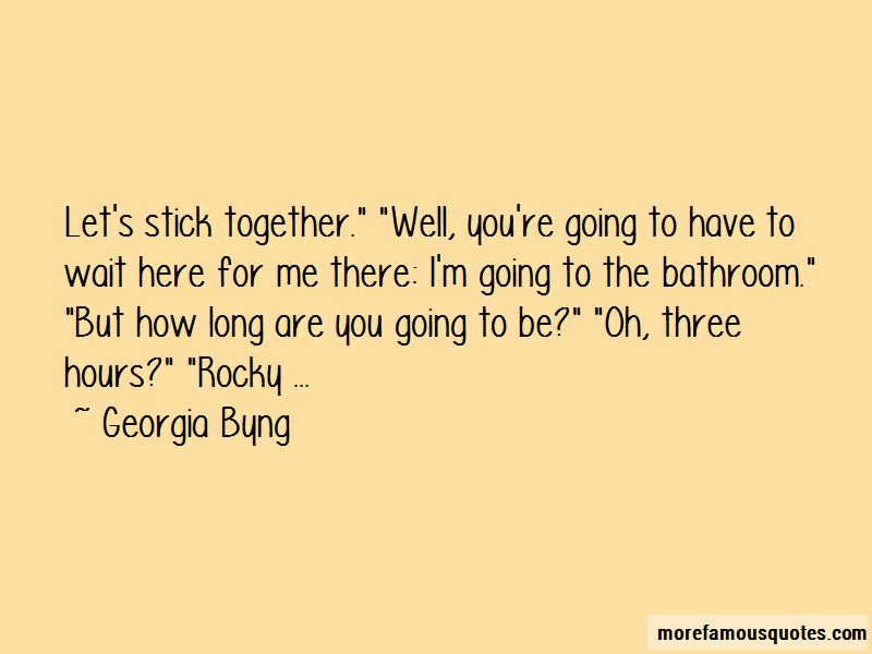 Georgia Byng Quotes Pictures 4