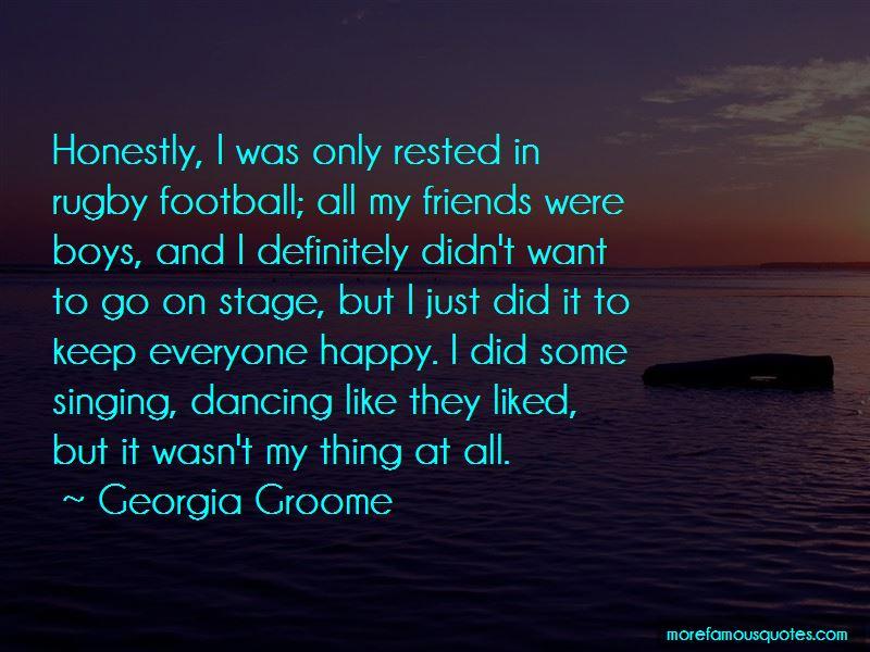 Georgia Groome Quotes Pictures 2