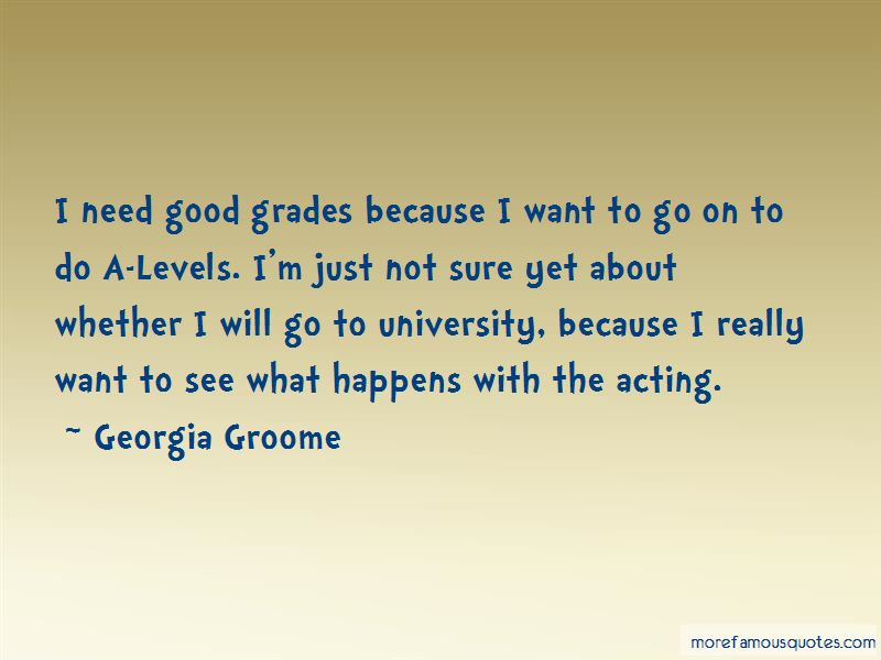 Georgia Groome Quotes Pictures 3