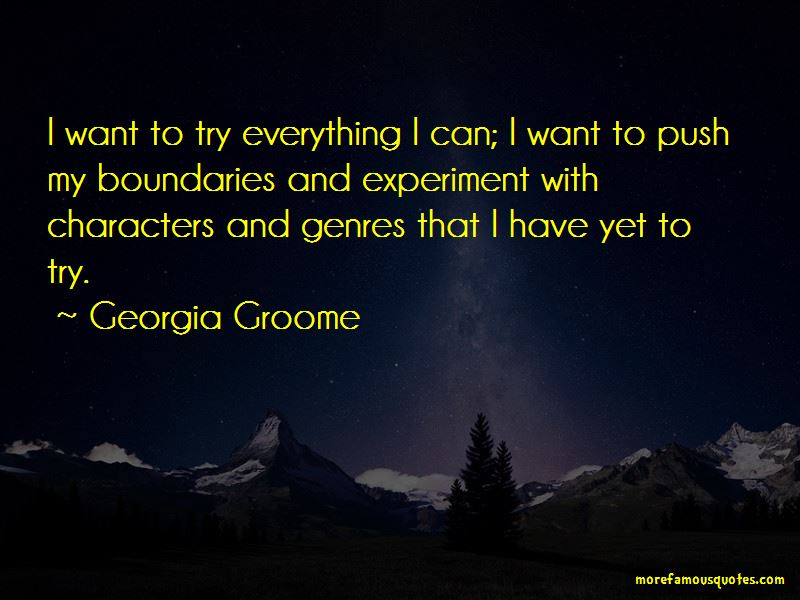 Georgia Groome Quotes Pictures 4