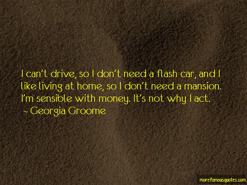 Georgia Groome Quotes
