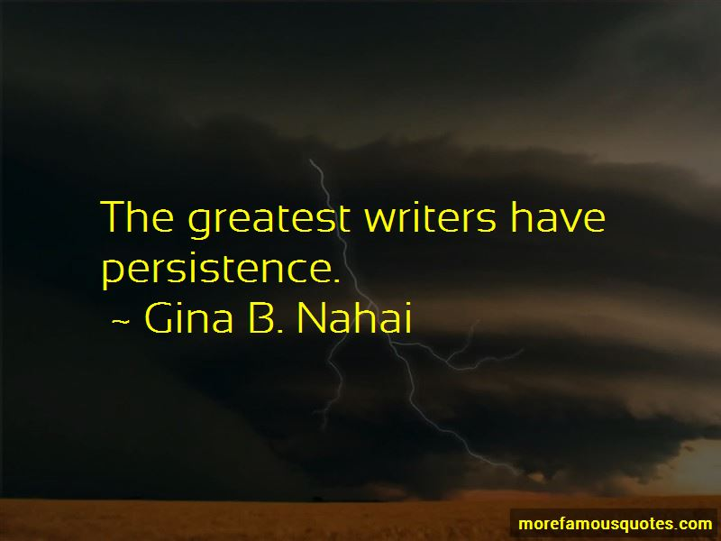 Gina B. Nahai Quotes Pictures 2
