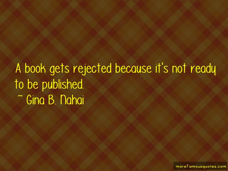 Gina B. Nahai Quotes Pictures 3