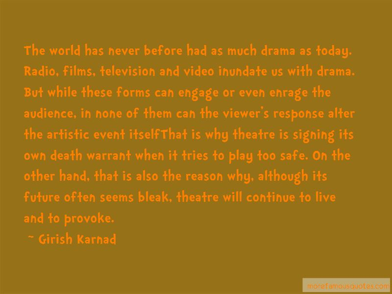 Girish Karnad Quotes Pictures 2