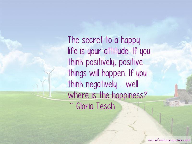 Gloria Tesch Quotes