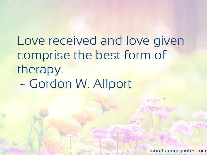Gordon W. Allport Quotes Pictures 2