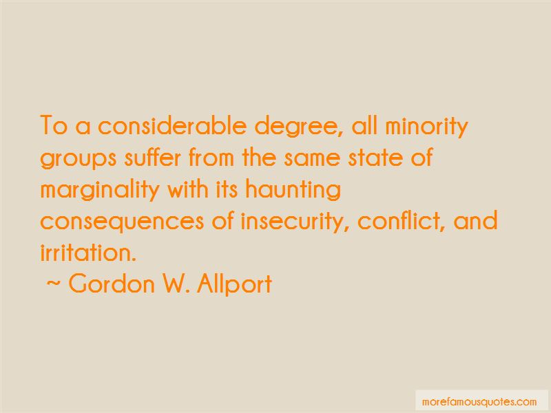 Gordon W. Allport Quotes Pictures 3