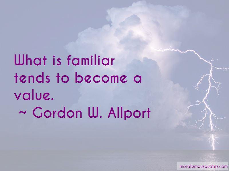 Gordon W. Allport Quotes Pictures 4