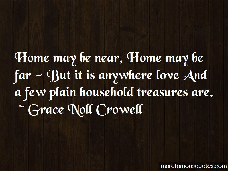 Grace Noll Crowell Quotes