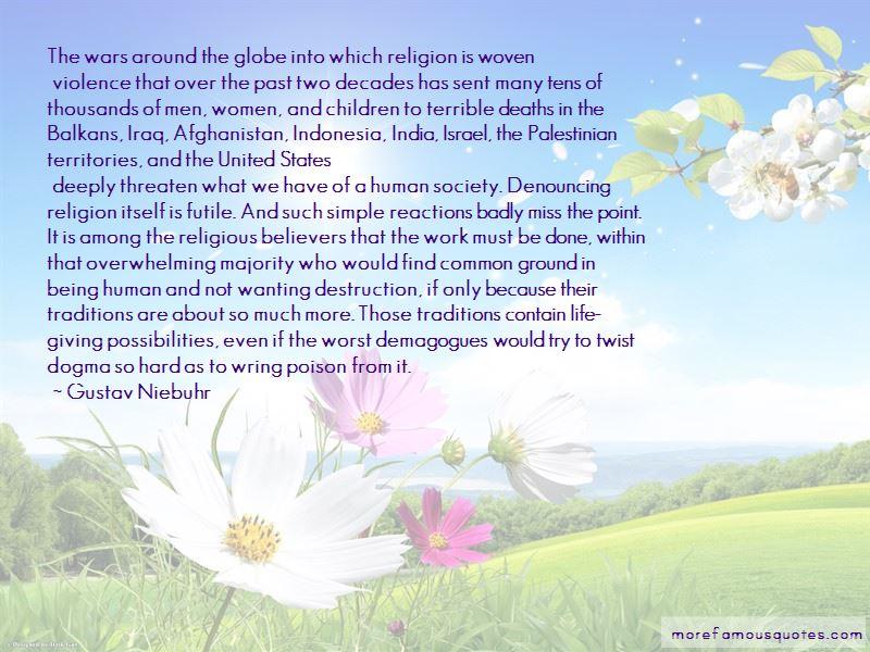 Gustav Niebuhr Quotes Pictures 4