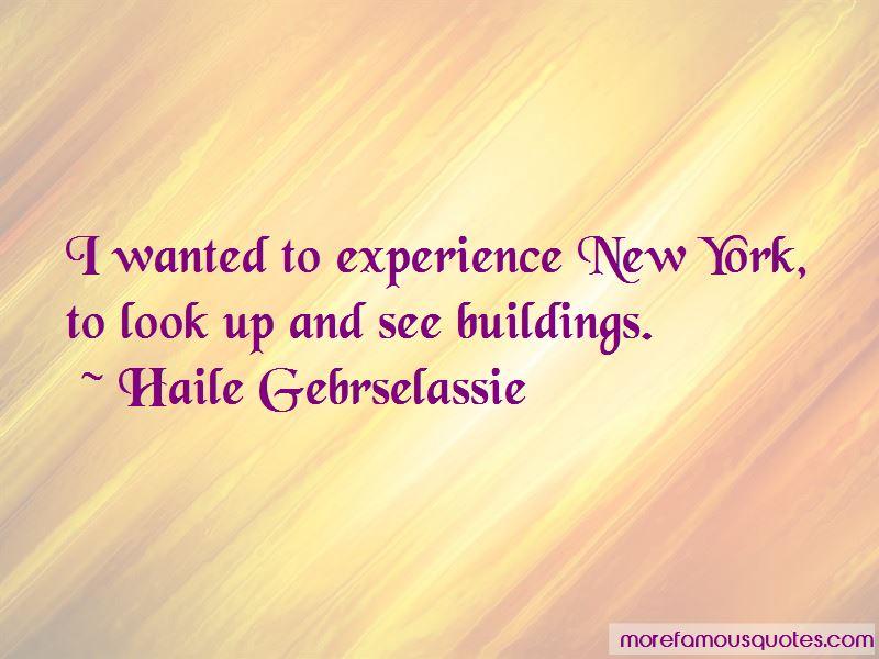 Haile Gebrselassie Quotes