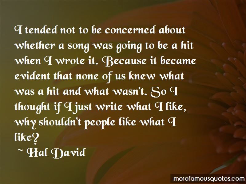Hal David Quotes Pictures 4