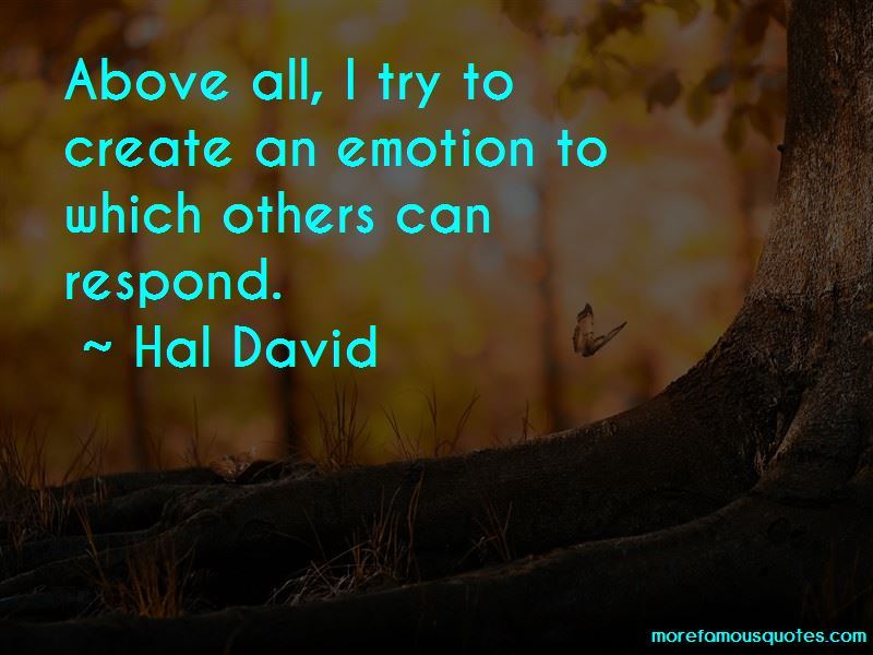 Hal David Quotes