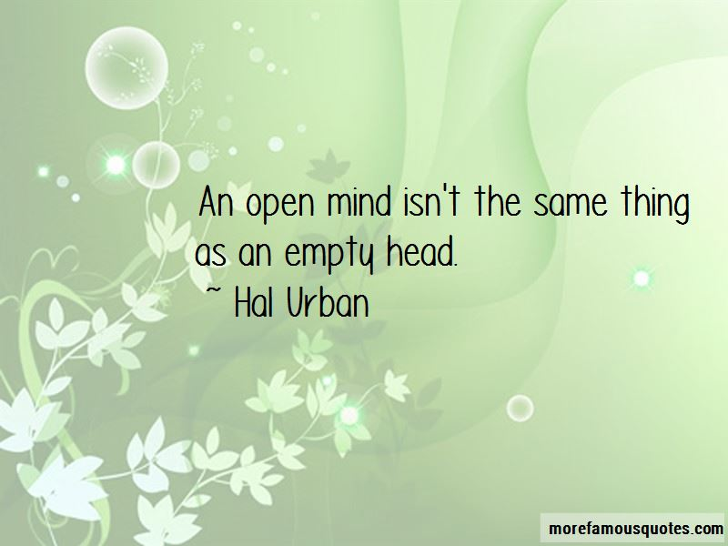 Hal Urban Quotes Pictures 3