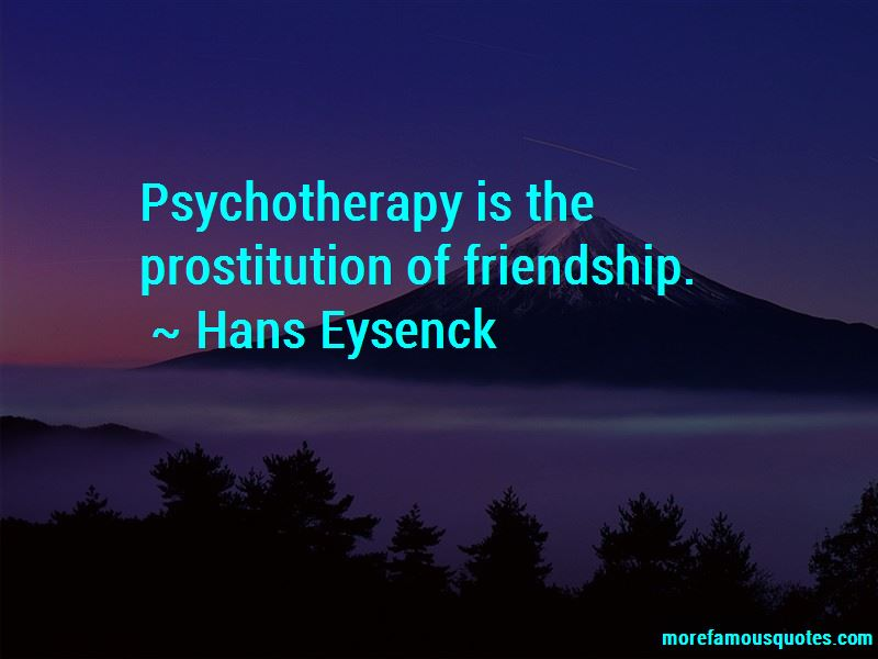 Hans Eysenck Quotes Pictures 2