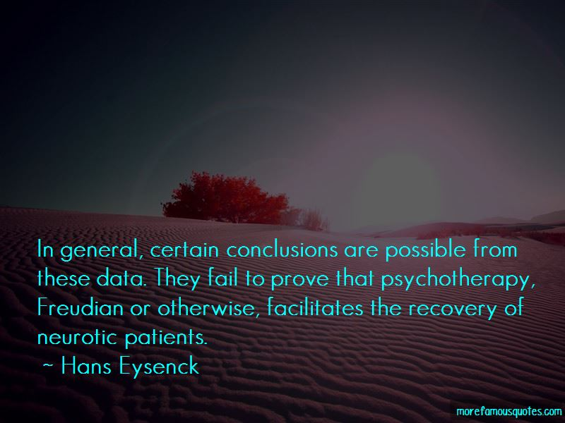 Hans Eysenck Quotes Pictures 3