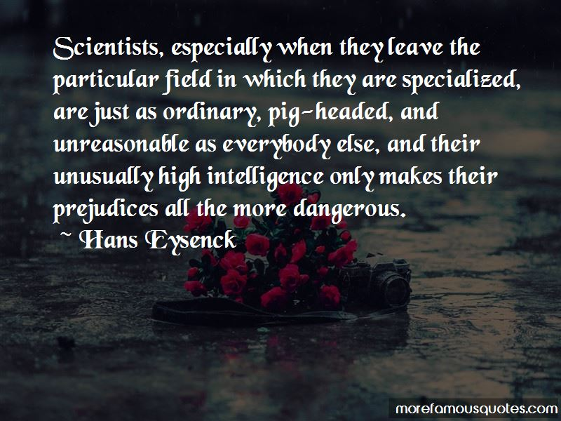 Hans Eysenck Quotes Pictures 4