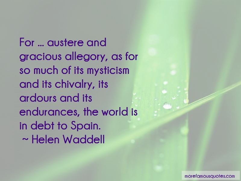 Helen Waddell Quotes Pictures 4