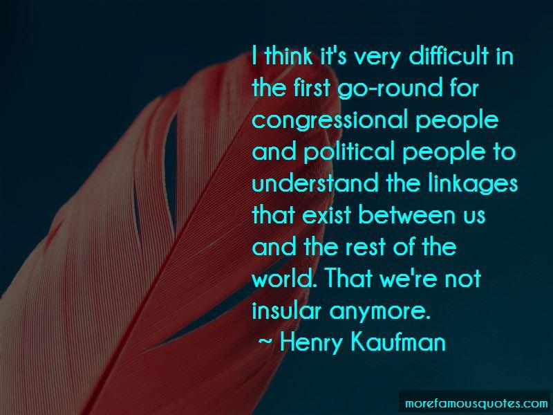 Henry Kaufman Quotes