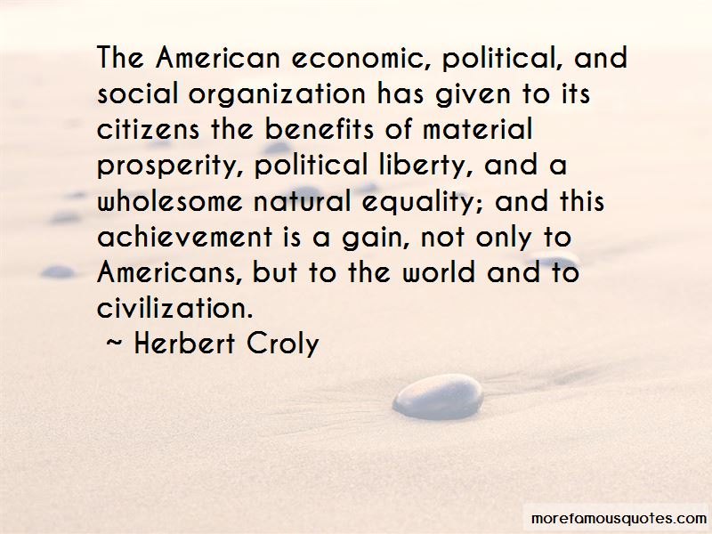 Herbert Croly Quotes Pictures 4