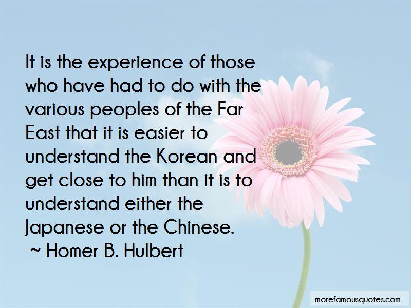 Homer B. Hulbert Quotes