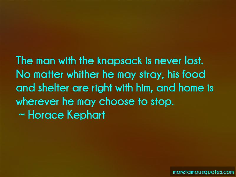 Horace Kephart Quotes Pictures 2