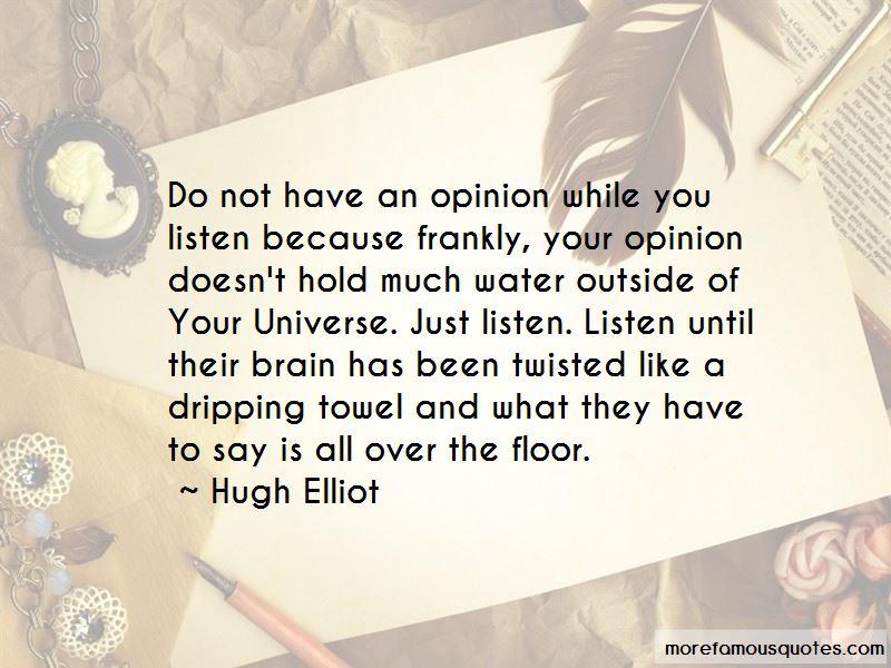 Hugh Elliot Quotes Pictures 3