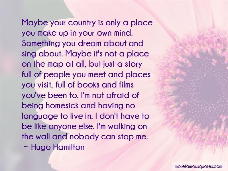 Hugo Hamilton Quotes Pictures 4
