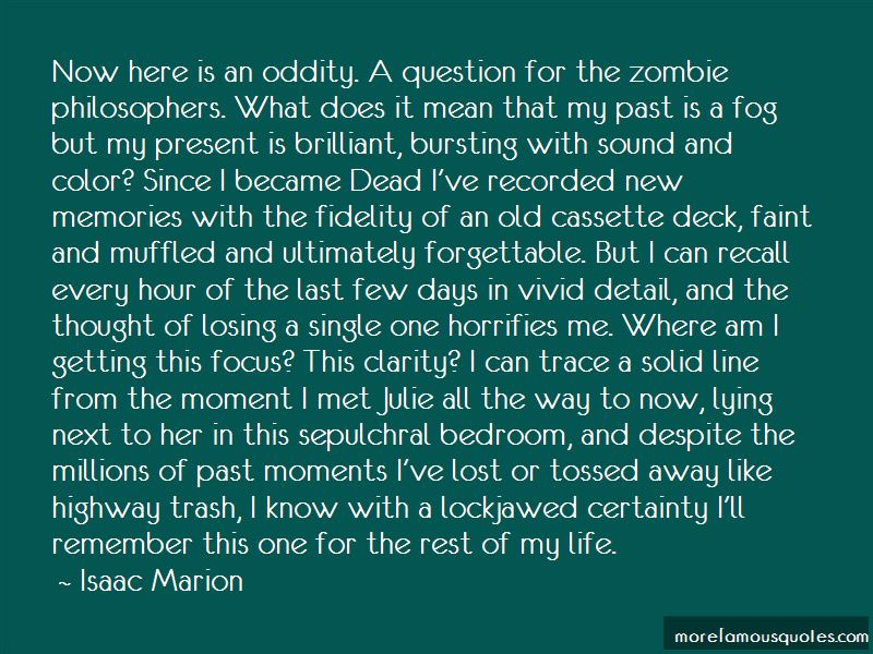 Isaac Marion Quotes Pictures 3