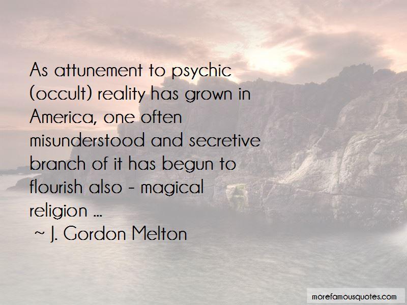 J. Gordon Melton Quotes