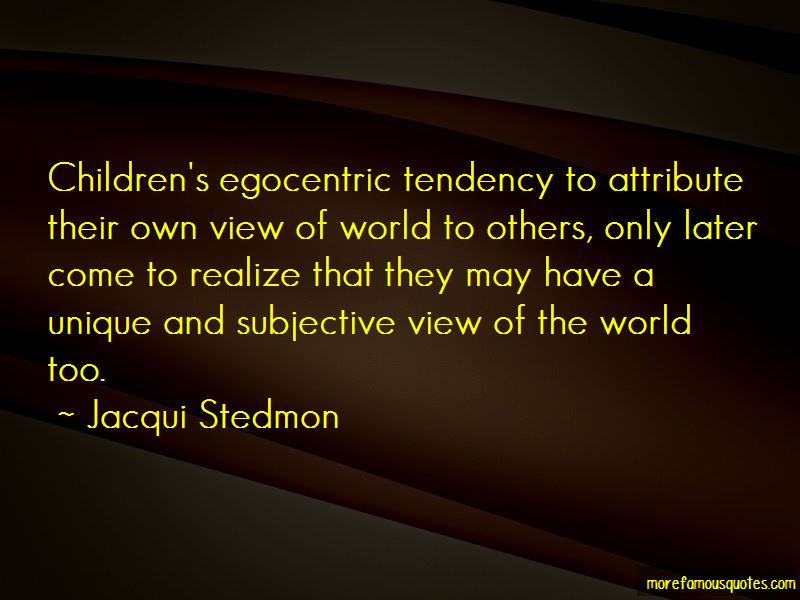 Jacqui Stedmon Quotes Pictures 3