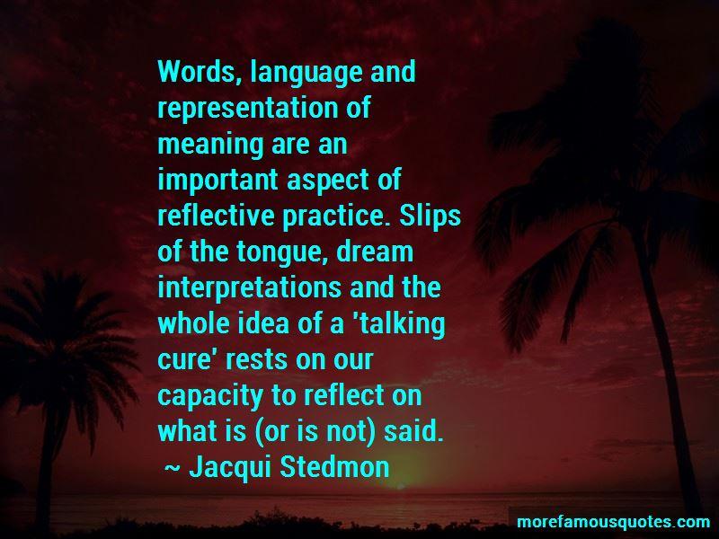Jacqui Stedmon Quotes Pictures 4