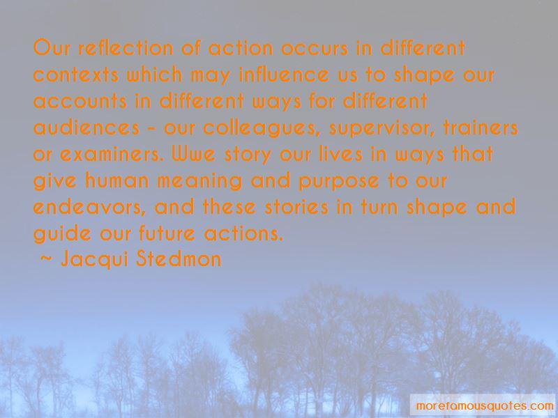 Jacqui Stedmon Quotes