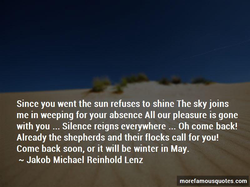 Jakob Michael Reinhold Lenz Quotes