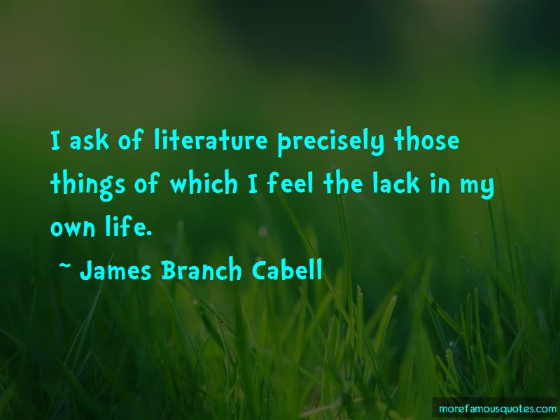 James Branch Cabell Quotes Pictures 2