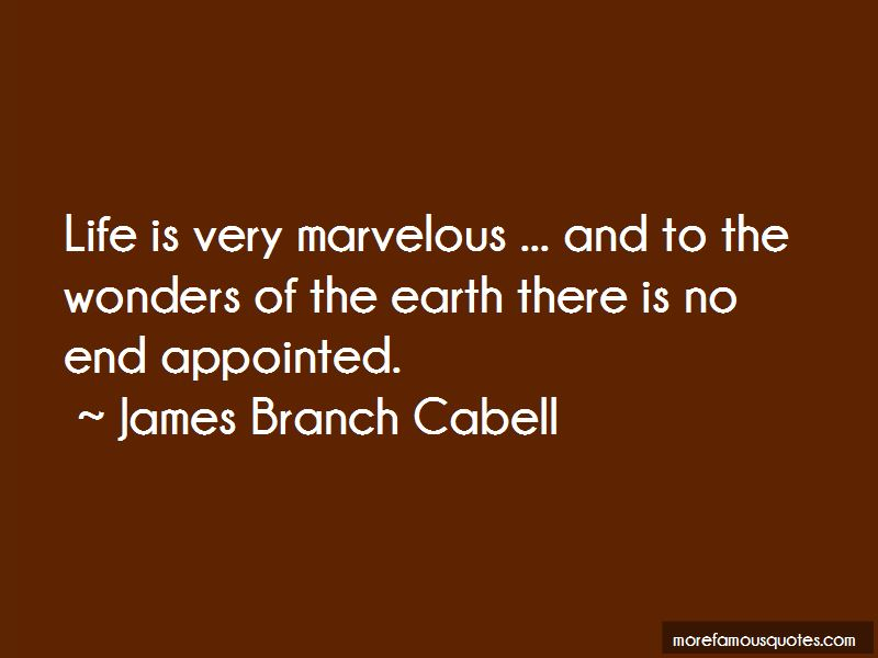 James Branch Cabell Quotes