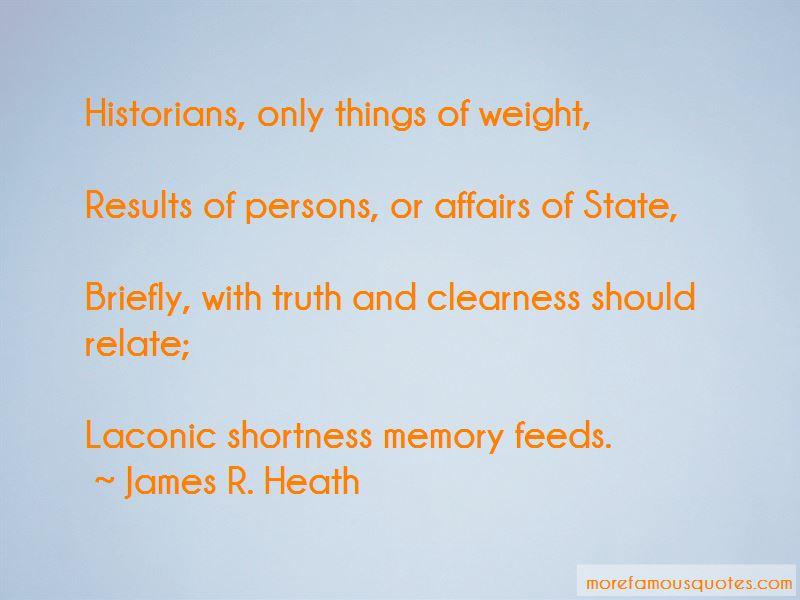 James R. Heath Quotes Pictures 2