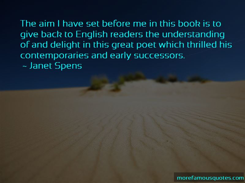 Janet Spens Quotes Pictures 2