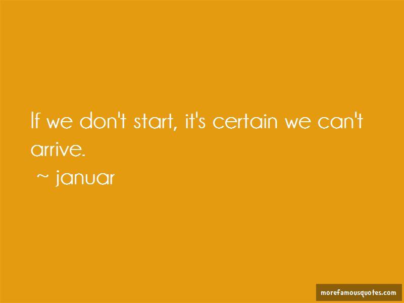 Januar Quotes